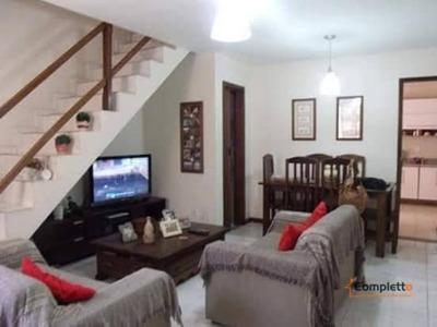 Casa Duplex Com 2 Dormitórios À Venda, 110 M² Por R$ 299 - Curicica - Rio De Janeiro/rj - Ca0165