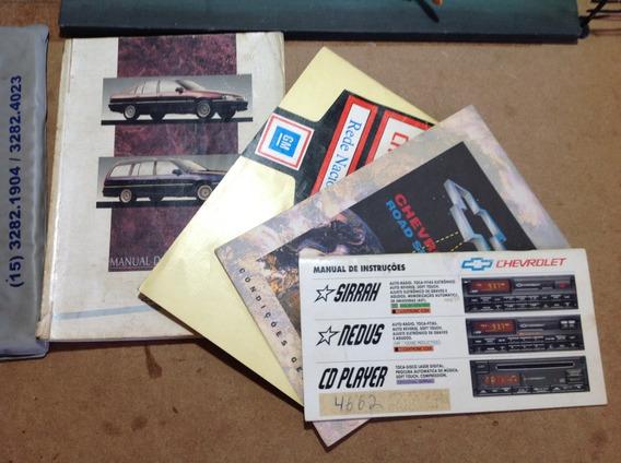Manual Proprietário Omega 94 - Em Branco + Manual Cd Player