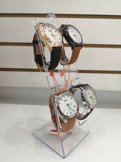 Exhibidor Acrílico Transparente Para Reloj