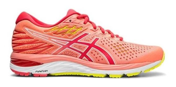 Zapatillas Asics Gel Cumulus 21 Mujer Rosa Running