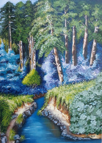 Óleo Sobre Tela - Floresta