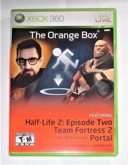 The Orange Box Half Life 2 Original Xbox 360 & One Cr $15