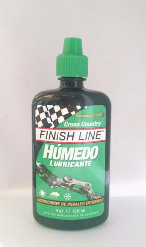 Lubricante Sintetico Finish Line  P/ Bicicleta - 120 Ml