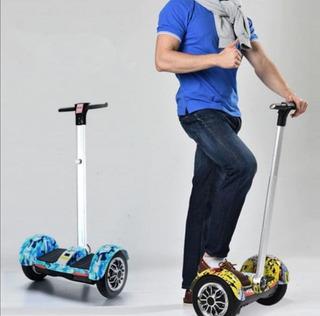 Patineta Eléctrica Smart Balance, Volant Bastón Y Bluetooth