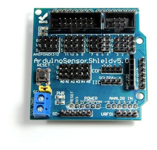 Imagen 1 de 3 de Sensor Shield V5 Arduino Uno