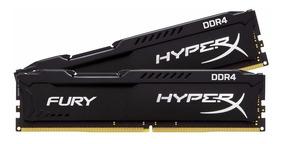 Memória Ram 8gb Hyper X Gamer Ddr4 2400 Fury Black