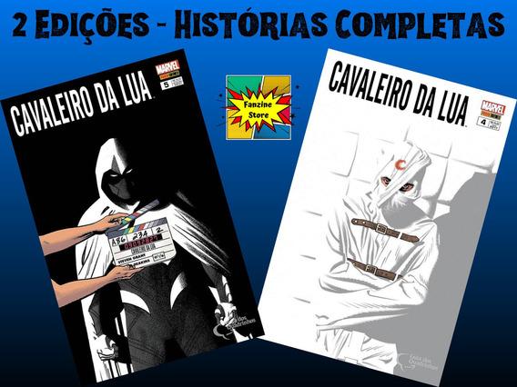 Kit Hq Gibi Cavaleiro Da Lua Marvel Edições 4 E 5