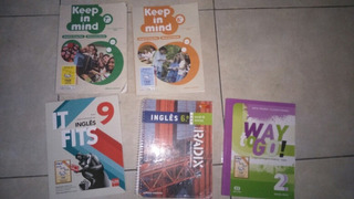 Kit Com 5 Livros De Inglês Todos Acompanhar O Cd