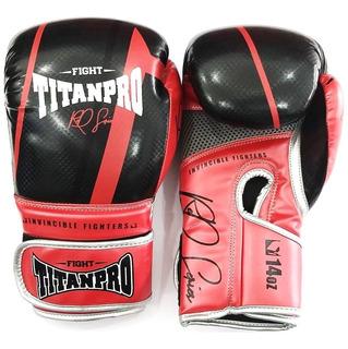 Luva Muay Thai E Boxe Titan Pro Importada Frete Grátis