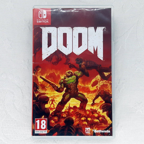 Doom - Semi Novo - Midia Fisica - Switch - Gamercado