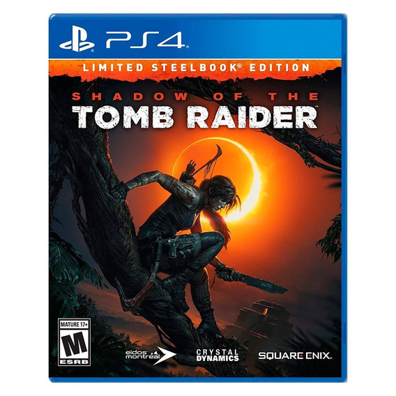 Shadow Of The Tomb Raider Steelbook Edition Para Ps4 A Meses