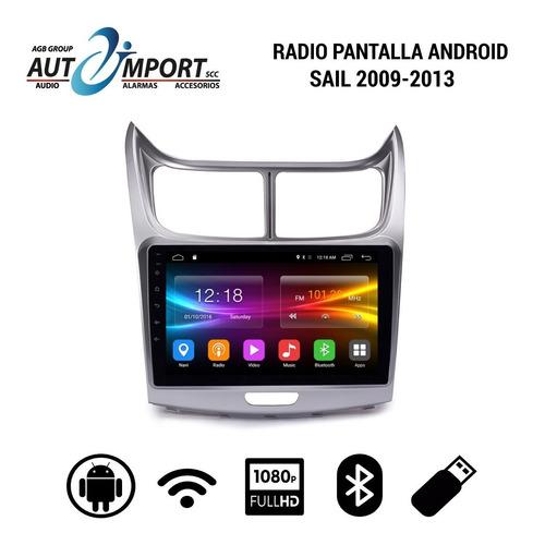 Radio Pantalla Android  Sail 13-17 Con Cámara De Retro