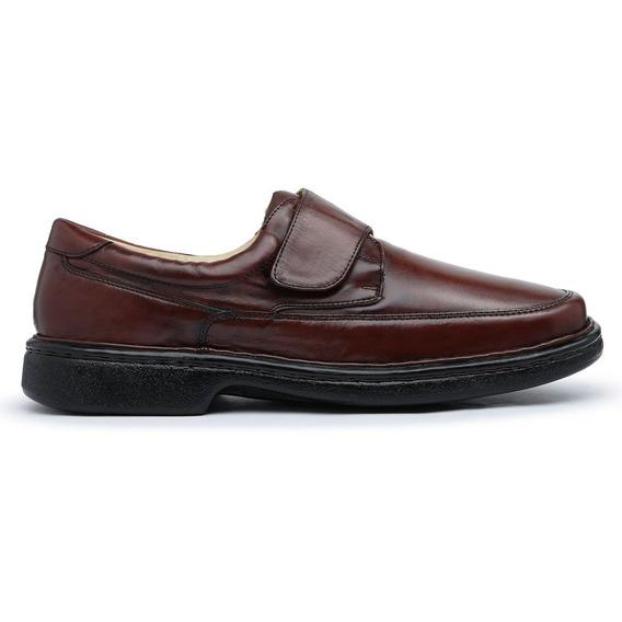 Sapato Conforto Tamanho Grande California 675 Amêndoa