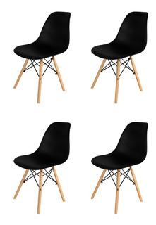 Sillas Eames X4 De Comedor Living Nordicas Modernas Homekong