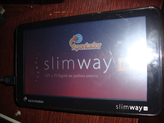 Gps - Slim Way Tv 5.0 - Apontador - 4.3