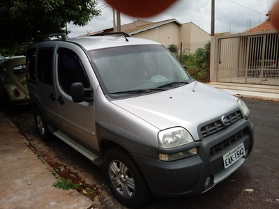 Fiat Doblo 2008 1.8 Adventure Locker Flex 5p