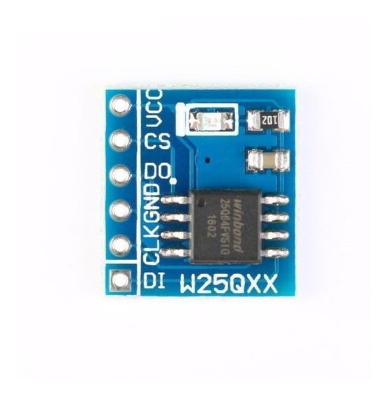 Memoria Flash 64 Mbit Norflash W25q64 Spi - 0324