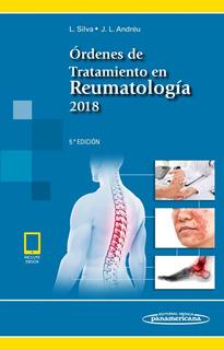 Silva Órdenes De Tratamiento En Reumatología 5ta Ed. 2018!