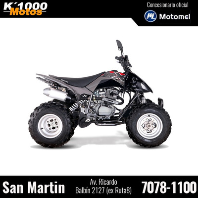 Cuatriciclo Motomel Mx 250 Mad Max