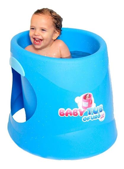Banheira Babytub Ofurô - De 1 A 6 Anos - Azul - Baby Tub