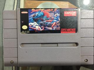 Street Fighter 2 Snes Super Nintendo Original