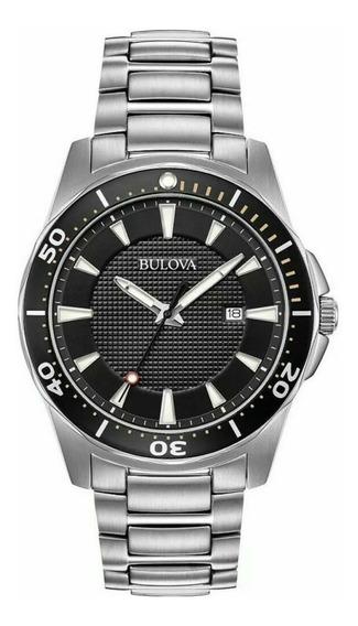 Reloj Bulova 98b328 Cuarzo Nuevo Acero Entrega Inmediata