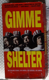 Vhs Rolling Stones Gimme Shelter Nacional