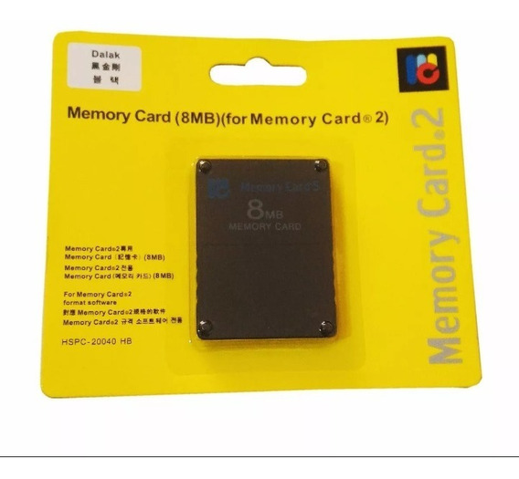 Memory Card 8mb Magicgate Original Para Playstation2