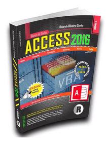 Livro De Access 2016 - Banco De Dados + Curso On-line