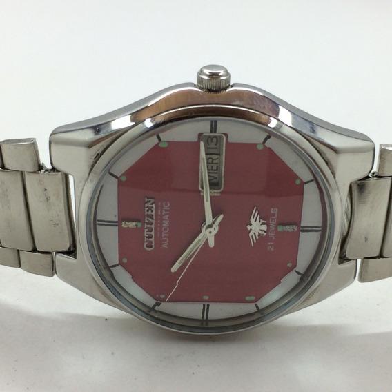Relógio Citizen Vintage - Modelo Raro, Bizotado
