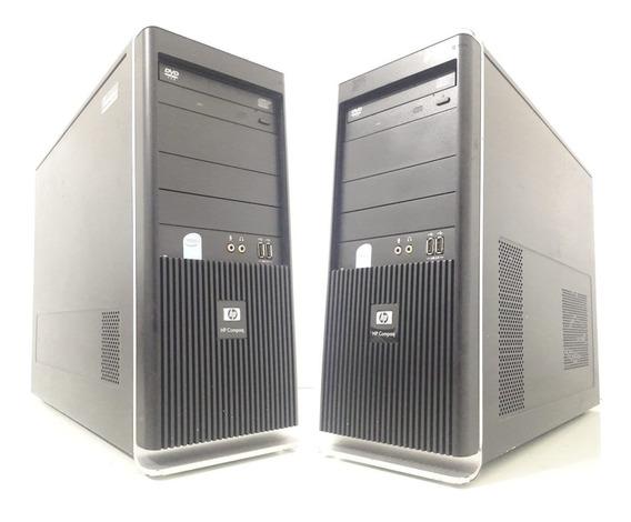Computador Hp Compaq Pentium 2gb 80gb 12x Sem Juros