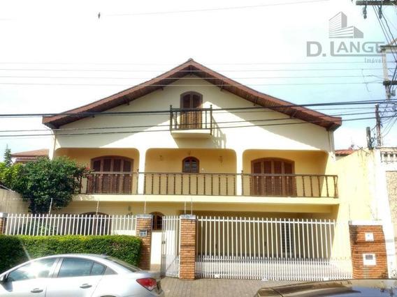 Casa Com 4 Dormitórios À Venda, 380 M² Por R$ 690.000,00 - Parque São Quirino - Campinas/sp - Ca11761