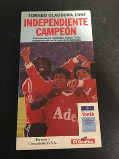 Video Independiente Campeón 1994