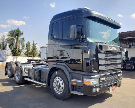 Caminhão Scania 124 400 Ano 2003/03 6x2 De Santi Caminhões