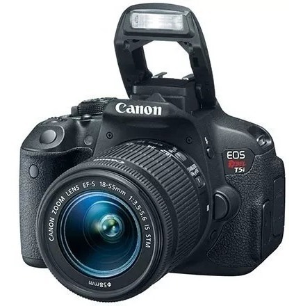 Câmera Digital Canon T5i + Cartão De Memória Grátis