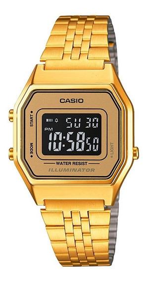 Relógio Feminino Casio Digital Vintage La680wga-9bdf Fashion