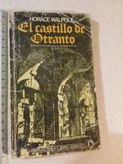 E1 El Castillo De Otranto- Horace Walpole- Ed Bruguera- 1982