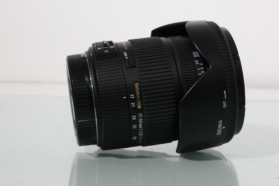 Lente Sigma 17x50 2.8 Para Canon Com Bolsa Original
