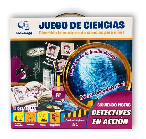 Juego Ciencias Detectives En Acción Galileo Italy