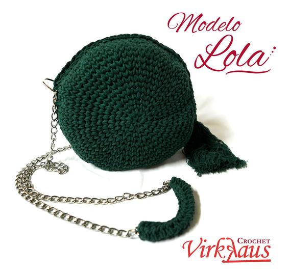 Cartera Crochet Modelo Lola