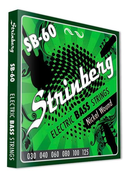 Encordoamento Contra Baixo Strinberg 6 Cordas Sb-60 Oferta!
