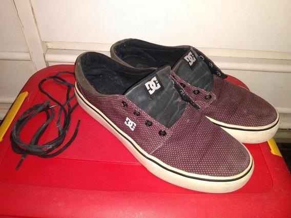 Tênis Dc Shoes Skate Tamanho 43 Usado Barato R$88,99