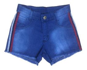 03 Short Jeans Feminino Cós Alto Roupas Femininas Atacado