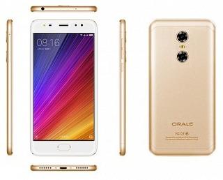 Smartphone Oale X1 Dorado