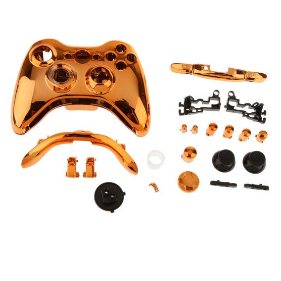 Caso Substituição Botões Estojo Para Xbox 360 Sem Fio Jogo C