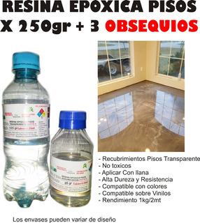 Resina Epoxica Pisos 3d X250g Porcelanato Pisos Madera