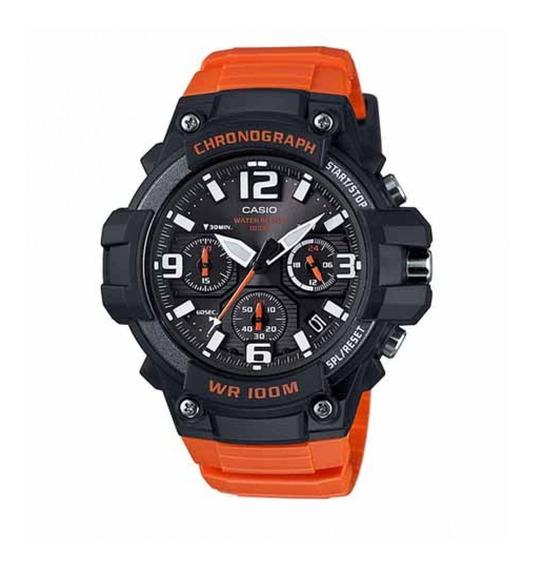 Casio Heavy Duty Reloj Caballero Cronografo Mcw100h Msi Ng