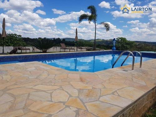 Chácara Com 5 Dormitórios À Venda, 1000 M² Por R$ 1.100.000,00 - Ribeirão Dos Porcos - Atibaia/sp - Ch1410