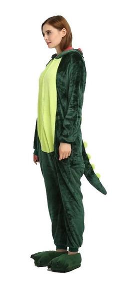 Kigurumi Dinosaurio Dino Pijama Mameluco Disfraz Moda Kawaii