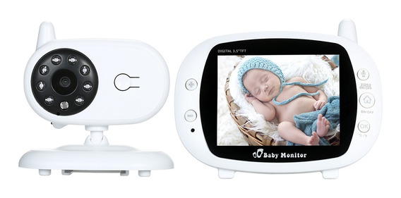 3,5 Pulgadas Color Lcd Monitor Vídeo Digital Sin Hilos Bebé